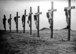 A line of naked, crucified Armenian girls The Armenian Genocide Museum