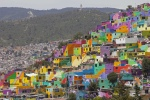 Organizers say the project is Mexico's largest mural. Photograph: Sofia Jaramillo/AP